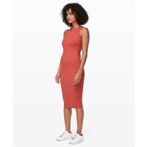 Lululemon Picnic Play Dress (Brick Red)